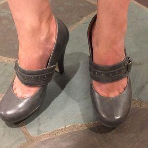 Madden Girl Gray High Heel Shoe